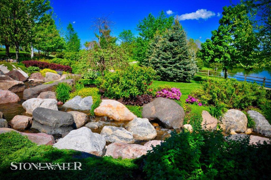 Stonewater Landscape Features 2020-