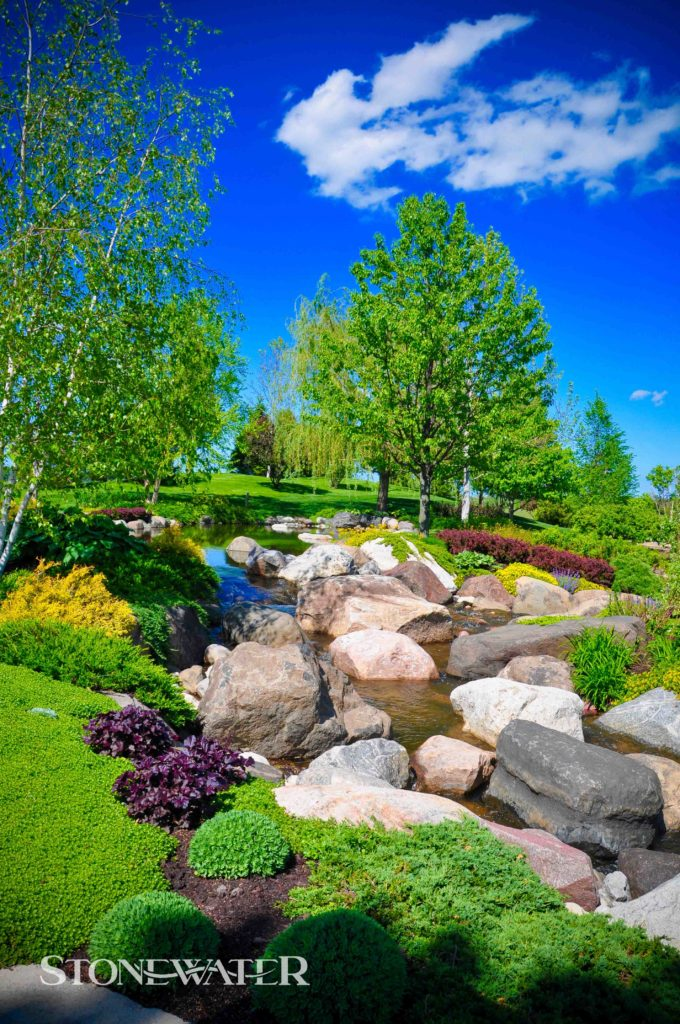 Stonewater Landscape Features 2020-2