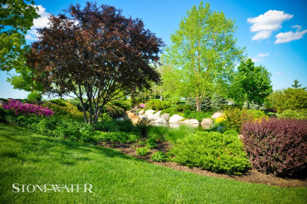 Stonewater Landscape Features 2020-8