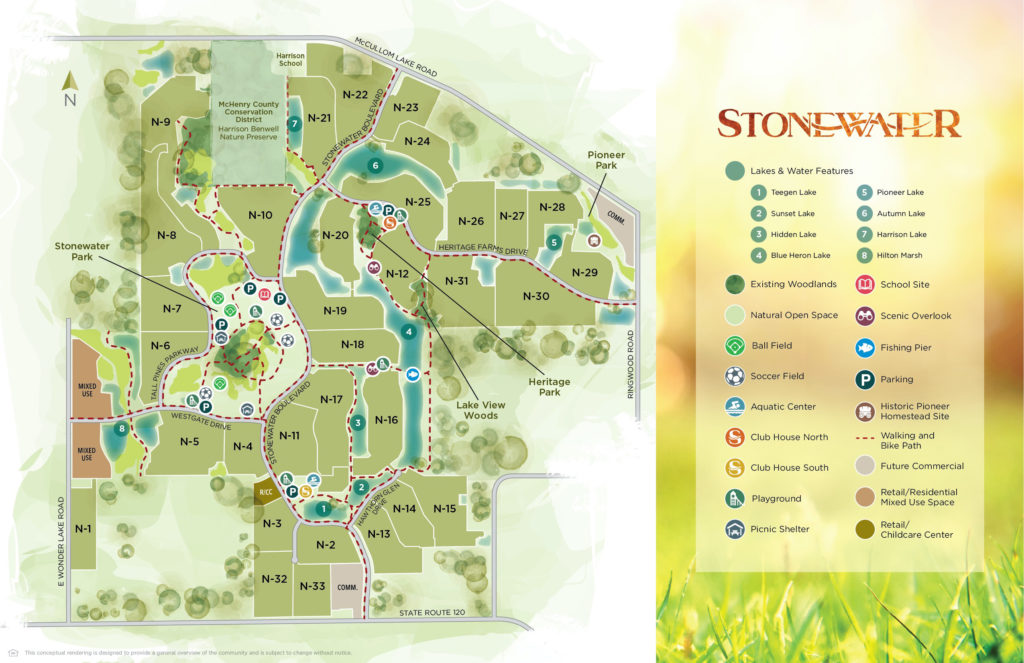Stonewater Site Map